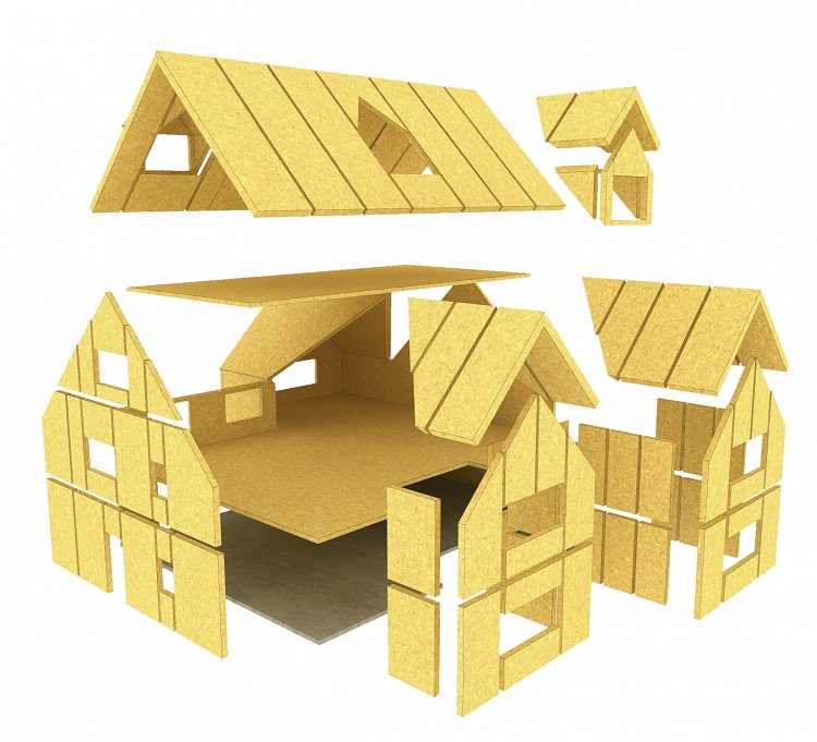 Structural insulated panels sips lowe sips for Sip panel home kits