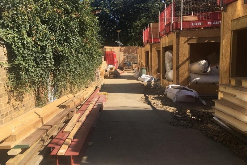 SIPs superstructures Taking Shape in Maida Vale