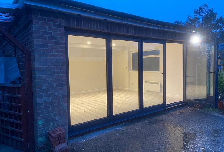 Stunning Garage Conversion - Complete in Only 4 Weeks!