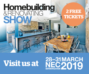 Homebuilding and Renovating Show NEC 28 - 31st March