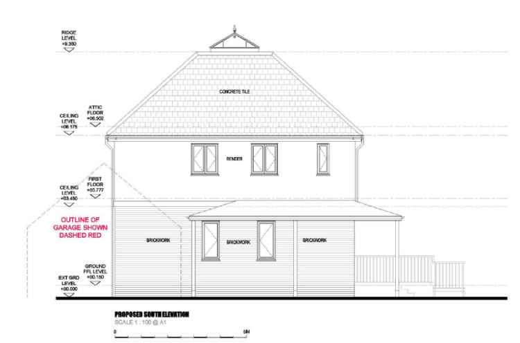 Plans for self build house