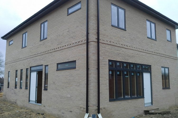 Completed Self build construction project